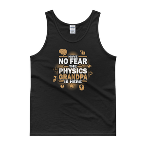 Have No Fear The Physics Grandpa Is Here - Tank top - Cozzoo