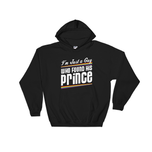 I'm Just A Guy That Found His Prince - Hoodie Sweatshirt Sweater - Cozzoo