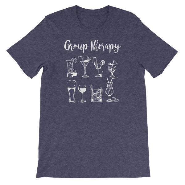 Group Therapy - Short-Sleeve Unisex T-Shirt - Cozzoo