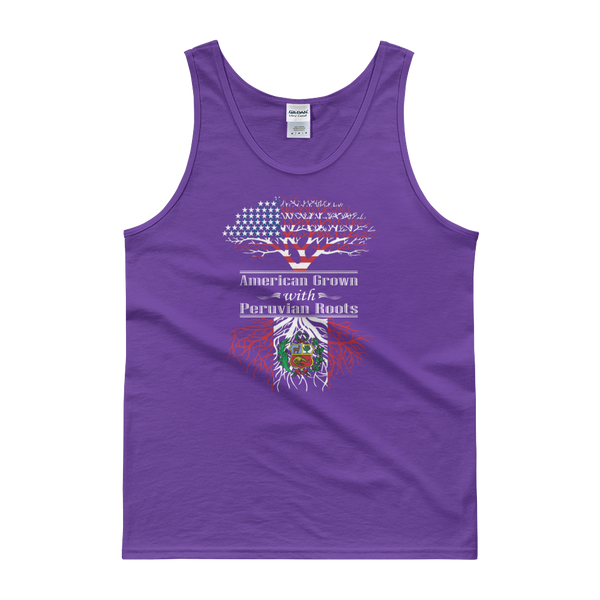 American Grown With Peruvian Roots - Tank top - Cozzoo