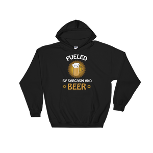 Fueled By Funny And Beer - Hoodie Sweatshirt Sweater - Cozzoo