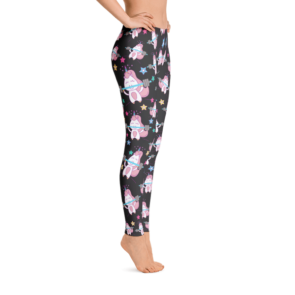 Unicorns Lifting Weight - Leggings - Cozzoo