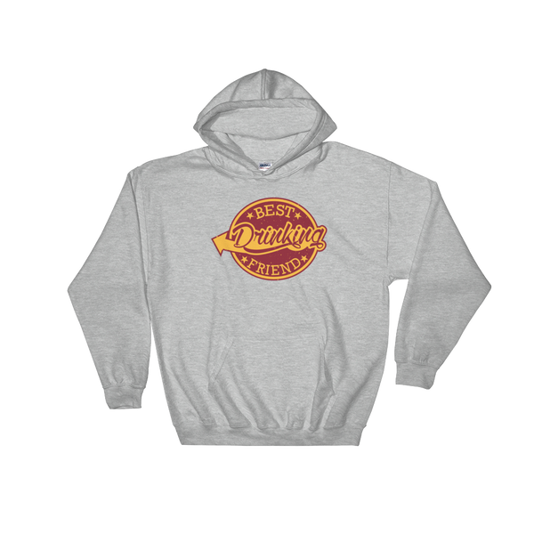 Best Drinking Friend - Hoodie Sweatshirt Sweater - Cozzoo