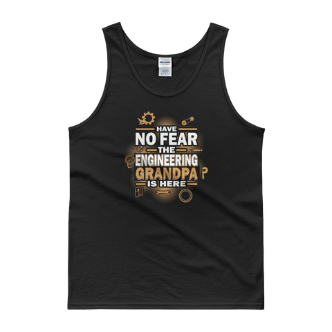 Have No Fear The Engineering Grandpa Is Here - Tank top - Cozzoo