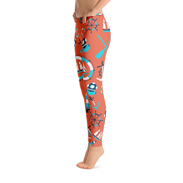 Nautical - Leggings - Cozzoo