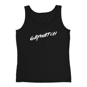 Gaywatch - Ladies' Tank - Cozzoo