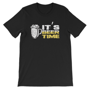 It's Beer Time - Short-Sleeve Unisex T-Shirt - Cozzoo