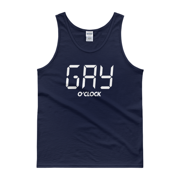 GAY O'CLOCK - Tank top - Cozzoo