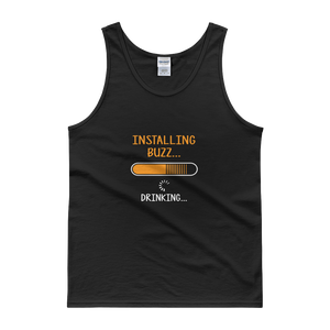 Installing Buzz… Drinking … - Tank top - Cozzoo