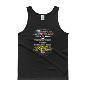 American Grown With Ecuadorian Roots - Tank top - Cozzoo