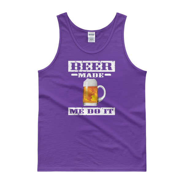 Beer Made Me Do It - Tank top - Cozzoo