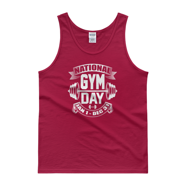 National Gym Day Jan 1 – Dec 31 - Tank top - Cozzoo