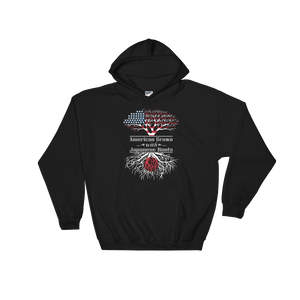 American Grown With Japanese Roots - Hoodie Sweatshirt - Cozzoo