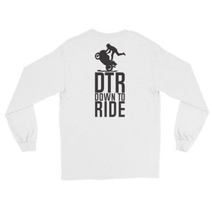 DTR Down to Ride - Long Sleeve T-Shirt - Cozzoo