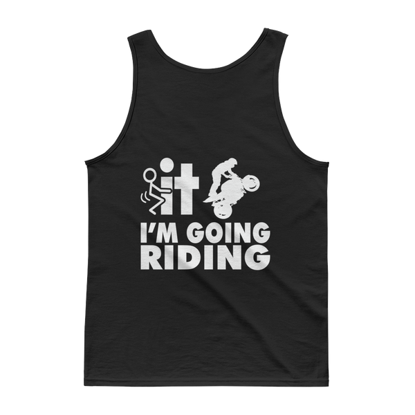 F-It I'm Going Riding - Sports Bike - Tank top - Cozzoo