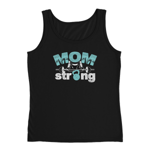 MOM Strong - Ladies' Tank - Cozzoo