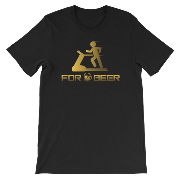 For Beer - Short-Sleeve Unisex T-Shirt - Cozzoo