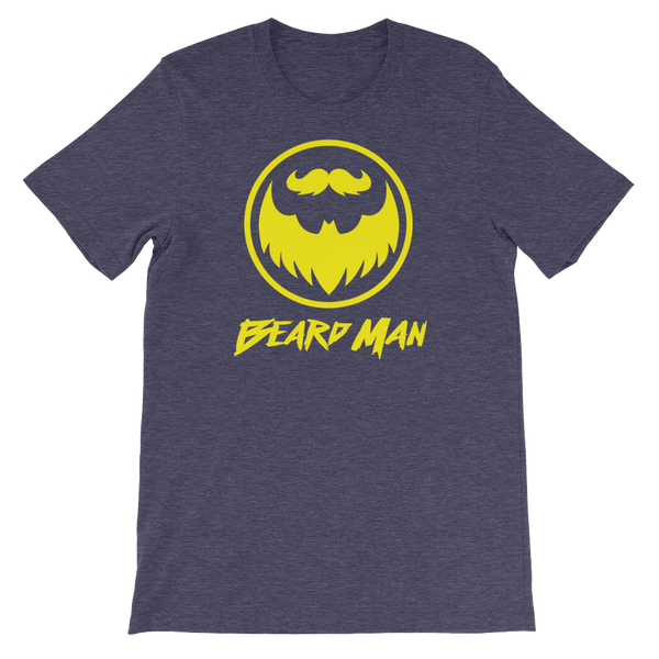 Beard Man - Short-Sleeve Unisex T-Shirt - Cozzoo