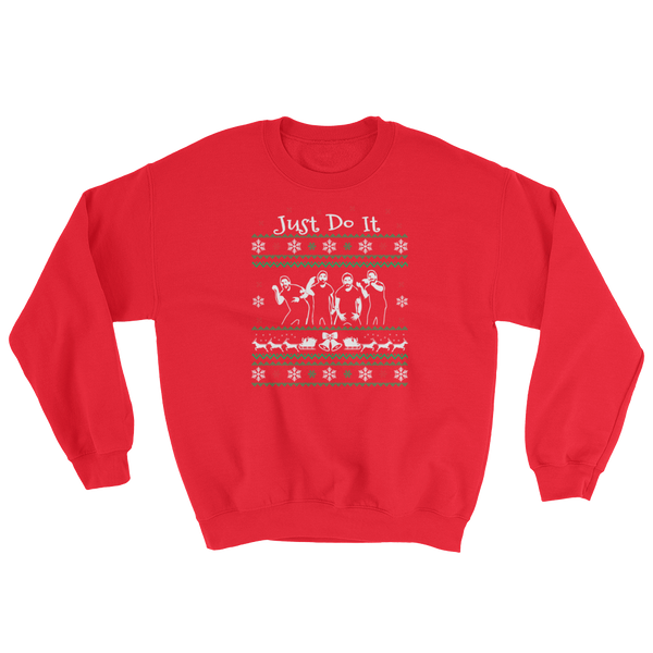Just Do It - Christmas - Sweatshirt - Cozzoo