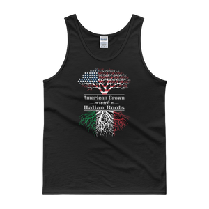 American Grown With Italian Roots - Tank top - Cozzoo