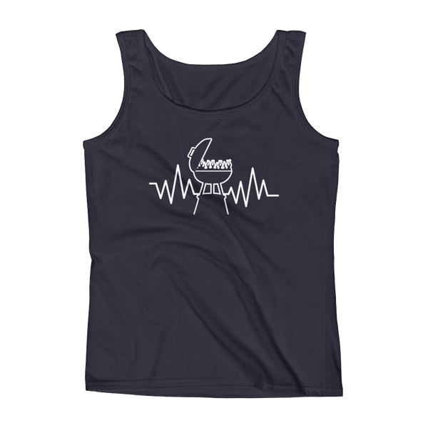 Grill Heartbeat - Ladies' Tank - Cozzoo
