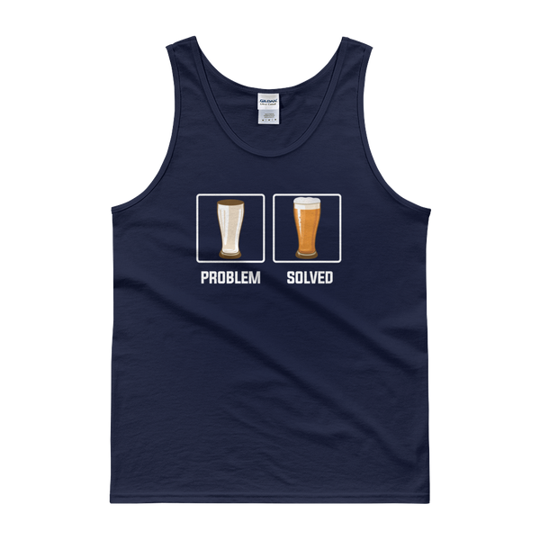 Problem Solved - Beer - Tank top - Cozzoo