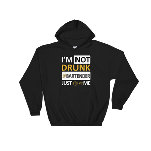 I'm Not Drunk The Bartender Just Loves Me - Hoodie Sweatshirt Sweater - Cozzoo