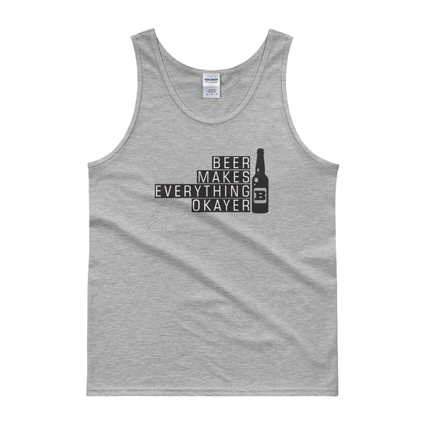 Beer Makes Everything Okayer - Tank top - Cozzoo