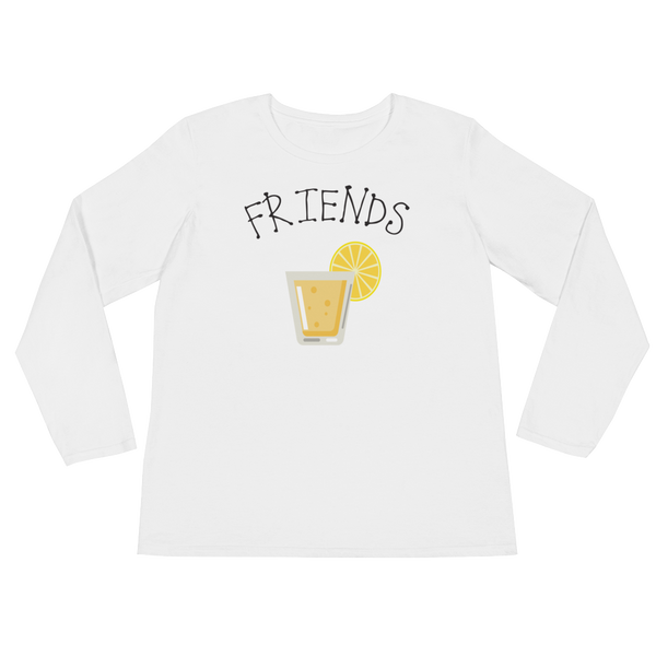 Best Friends - Beer/Drinking - Ladies' Long Sleeve T-Shirt - Cozzoo