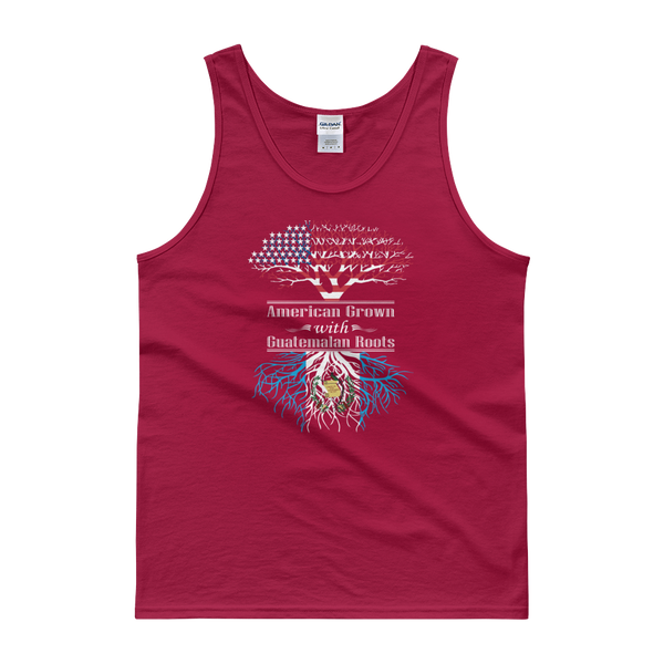 American Grown With Guatemalan Roots - Tank top - Cozzoo