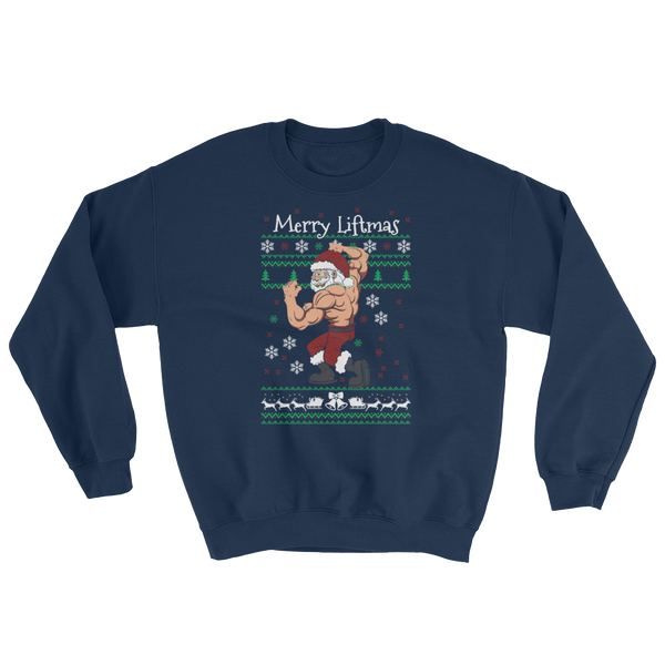 Merry Liftmas - Sweatshirt - Cozzoo