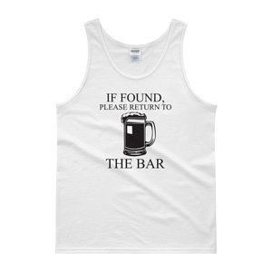 If Found, Please Return To The Bar - Tank top - Cozzoo