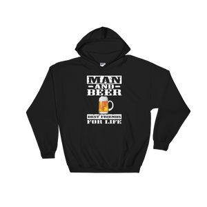 Man And Beer Best Friends For Life - Hoodie Sweatshirt Sweater - Cozzoo