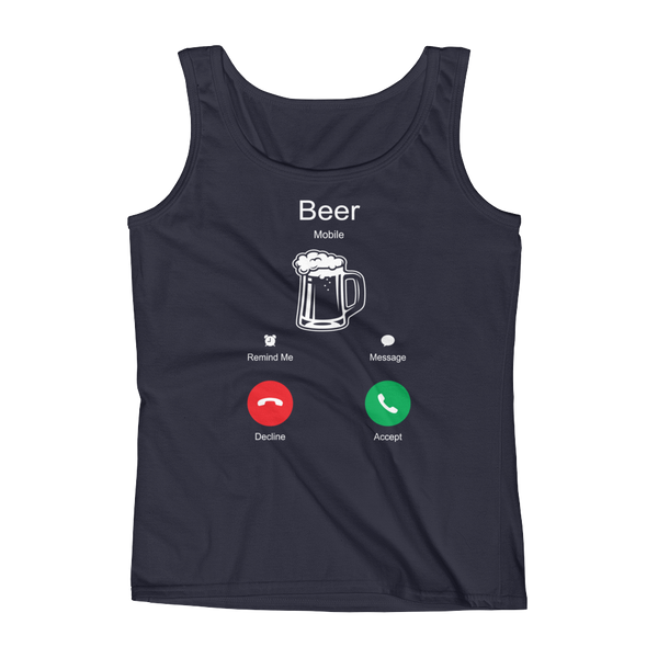 Beer Is Calling - Ladies' Tank - Cozzoo