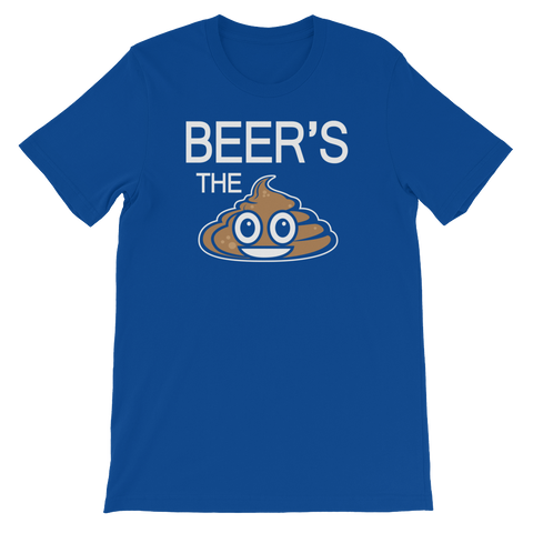 Beer's The Shit - Short-Sleeve Unisex T-Shirt - Cozzoo