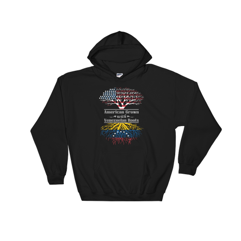 American Grown With Venezuelan Roots - Hoodie Sweatshirt Sweater - Cozzoo