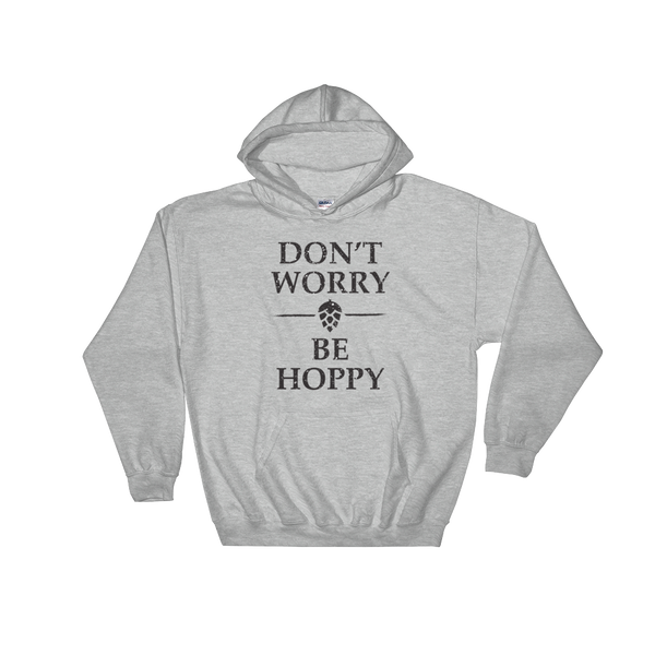 Don't Worry Be Hoppy - Hoodie Sweatshirt - Cozzoo