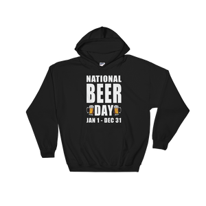 National Beer Day Jan 1 – Dec 31 - Hoodie Sweatshirt - Cozzoo