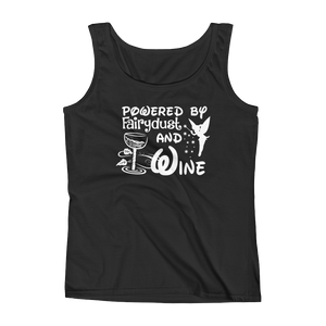 Powered By Fairydust And Wine - Ladies' Tank - Cozzoo