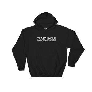 Crazy Uncle The Man. The Myth. The Legend - Hoodie Sweatshirt - Cozzoo