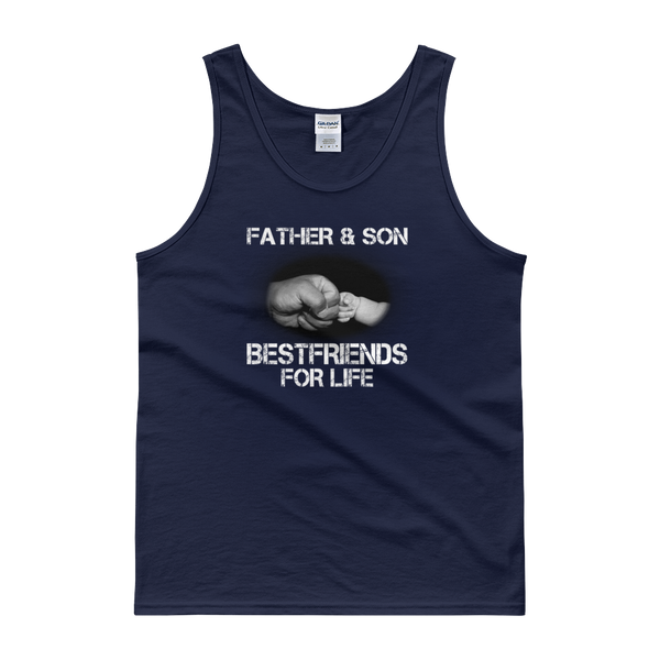Father And Son Best Friends For Life - Tank top - Cozzoo