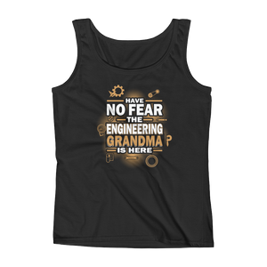 Have No Fear The Engineering Grandma Is Here - Ladies' Tank - Cozzoo