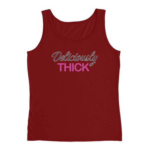 Deliciously Thick - Ladies' Tank - Cozzoo