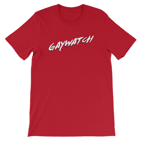 Gaywatch - Short-Sleeve Unisex T-Shirt - Cozzoo