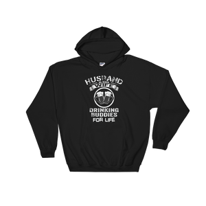 Husband And Wife Drinking Buddies For Life - Hoodie Sweatshirt Sweater - Cozzoo