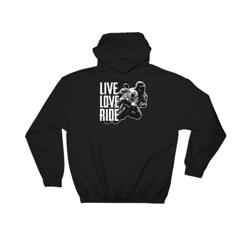 Live Love Ride - Hoodie Sweatshirt Sweater - Cozzoo