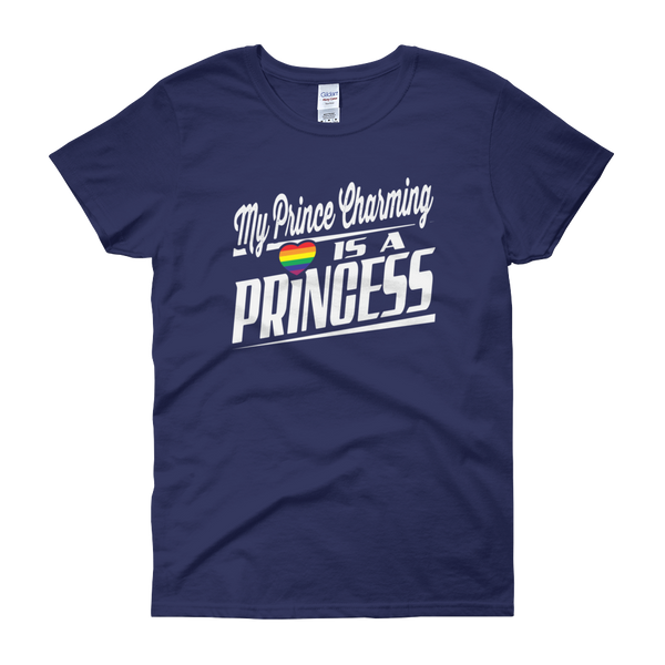 My Prince Charming Is A Princess - Women's short sleeve t-shirt - Cozzoo