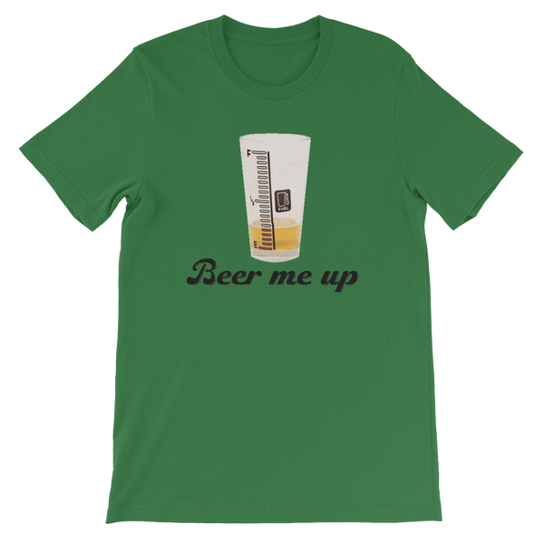 Beer Me Up - Short-Sleeve Unisex T-Shirt - Cozzoo