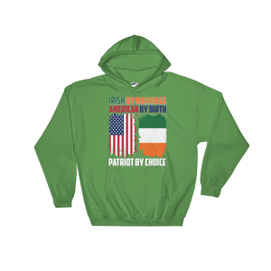 Irish by Marriage American by birth Patriot by choice - Hoodie Sweatshirt Sweater - Cozzoo