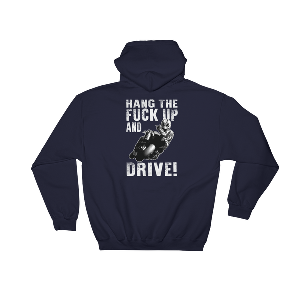 Hang The Fuck Up And Drive! - Hoodie Sweatshirt Sweater - Cozzoo